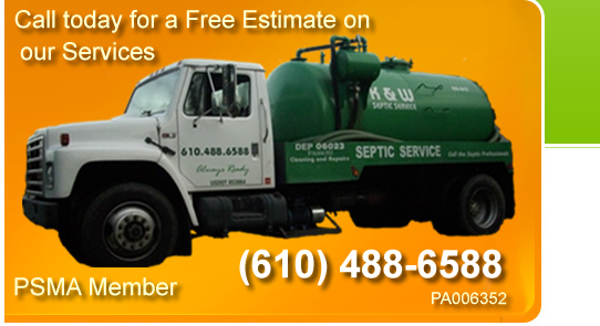 K and W septic service